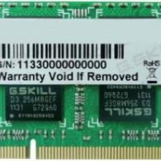 Memorie Laptop G.Skill F3 DDR3, 1x8GB, 1600MHz, CL11, 1.35v