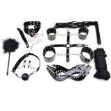 Set BDSM 10 Piese Negru Guilty Toys