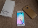 Cumpara ieftin Smartphone Samsung Galaxy S6 edge G925F White Pearl 32GB Livrare gratuita!, Alb, Neblocat