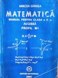 Mircea Ganga - Matematica - Manual pentru clasa a X-a, Algebra - Profil M1