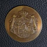 Medalie 1906 Primaria București - Vizita delegației orasului Viena - regalista