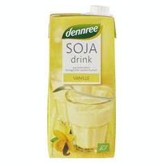 Bautura de Soia cu Vanilie Bio 1L Dennree Cod: 101441