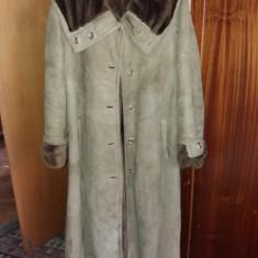 Cojoc si haina de blana marmota
