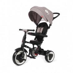 Tricicleta pliabila pentru copii QPlay Rito Gri