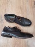 LICHIDARE STOC! Pantofi barbat noi piele naturala integral handmade 40