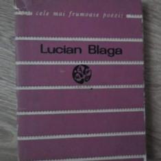 VERSURI - LUCIAN BLAGA