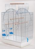 Colivie pentru papagali EMMA CABRIO cromată - 54 x 39 x 73cm