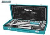 Trusa de chei tubulare 1/2 cu antrenor 24 piese (INDUSTRIAL) - MTO-THT141253