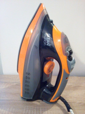 Fier de calcat Cleanmaxx Nano Ceramic, 2600 W, Senzor de siguranta foto
