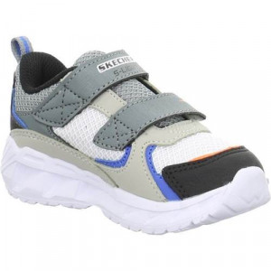 Tenisi Copii Skechers Low Magnalights Vendow 90751NGYBK