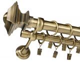 VERDI -dubla 25/19 - 400 cm - aur antic