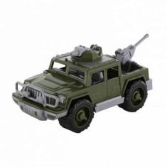 Vehicul militar de teren cu tun si mitraliera Kaki