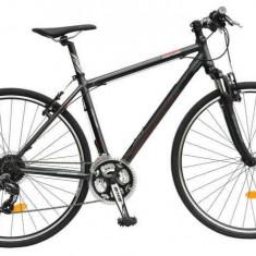 Bicicleta Oras Dhs Contura 2865 480mm Gri Rosu 28