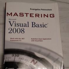 Carte VISUAL BASIC  Mastering Visual Basic 2008