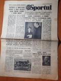 Sportul 22 octombrie 1977-nadia comaneci a primit medalia pacii natiunilor unite