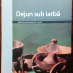 IOAN FLORA - DEJUN SUB IARBA (POEME) [editia princeps, 2004]