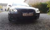 240W Angel Eyes LED Marker H8 BMW alb E82 E90 E92 E60 F01 E89 X6 X5