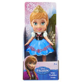 Figurina Mini Frozen Anna, 8 cm, 3 ani+