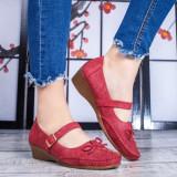 Pantofi rosii dama Danila-rl