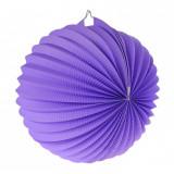 Lampion suspendat sfera, Mov, 25cm