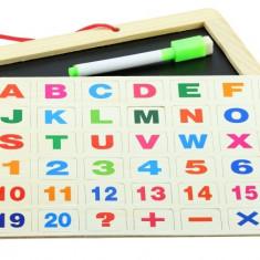 Set tablita magnetica de scris cu litere si numere