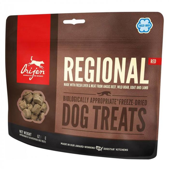 Hrană recompensă ORIJEN TREAT Regional Red 92 g