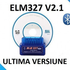 Interfata Diagnoza Universal Mini Elm327 bluetooth OBD2,Noi Sigilate,Cu Factura.