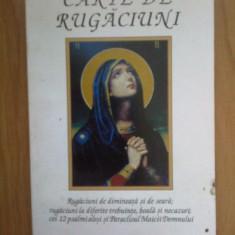 d1c Carte de rugaciuni - rugaciuni de dimineata si de seara , etc