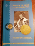 10 Lei 2019 Moneda aur autentica Regele Ferdinand și Regina Maria