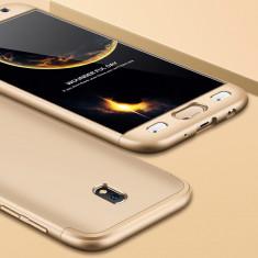 Husa Samsung Galaxy J7 2017 - GKK Protectie 360 Grade Aurie
