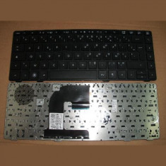 Tastatura laptop second hand HP Elitebook 8460P Black Franta
