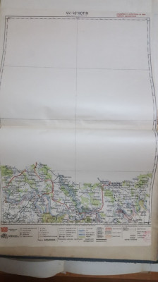 Harta Hotin, Kamieniec-Podolski, Zastavna, Râșcov, 1929 foto