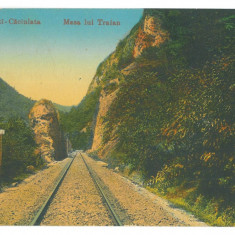 2005 - CALIMANESTI, Valcea, railway, Romania - old postcard - used - 1924, Circulata, Printata