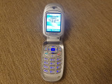 Telefon Clapeta Dame Samsung E100 Silver Liber retea Livrare gratuita!