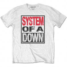 Tricou System Of A Down: Triple Stack Box