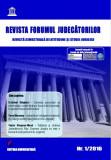 Cumpara ieftin Revista Forumul Judecatorilor - nr. 1 2016