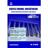 Revista Forumul Judecatorilor - nr. 1 2016