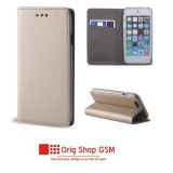 Husa flip carte smart samsung g390 galaxy xcover4 gold