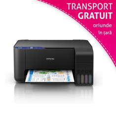 Multifunctionala Epson L3111 color, format A4, CISS integrat, USB