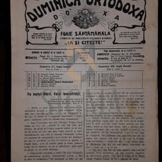 POPESCU-MALAESTI I. (PREOT), DUMINICA ORTODOXA, ANUL XI, Numerele 51-52, 1929, Bucuresti