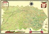 Harta Banat 1739 |