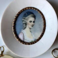 Sotia lui Mozart MINIATURA FILDES Constanze Weber