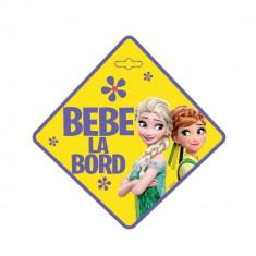 Semn auto Bebe la Bord Frozen SEV9622 Children SafetyCare
