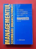 MANAGEMENTUL SCHIMBARII ORGANIZATIONALE × Eugen Burdus an 2003
