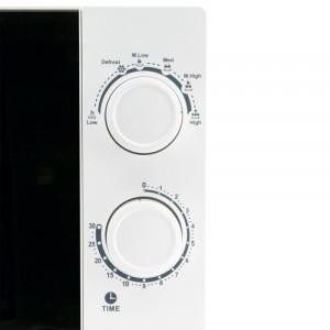 Cuptor cu microunde, 700 W, 5 trepte putere, capacitate 20 l, alb
