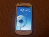 Cumpara ieftin Smartphone Samsung Galaxy S3 Mini I8190 White Liber retea livrare gratuita!, Alb, Neblocat
