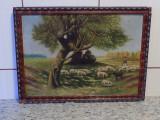 Tablou ulei pe panza semnat D. Ionescu/ TRANSPORT GRATUIT, Peisaje, Realism