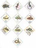 Reptile, 1965 - serie completa, obliterata