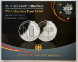 Moneda comemorativa de argint - 20 Euro 2016, Germania - Proof, Europa