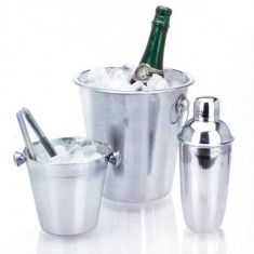 Set Frapiere si Cocktail Shaker din Otel Inoxidabil (4 piese)